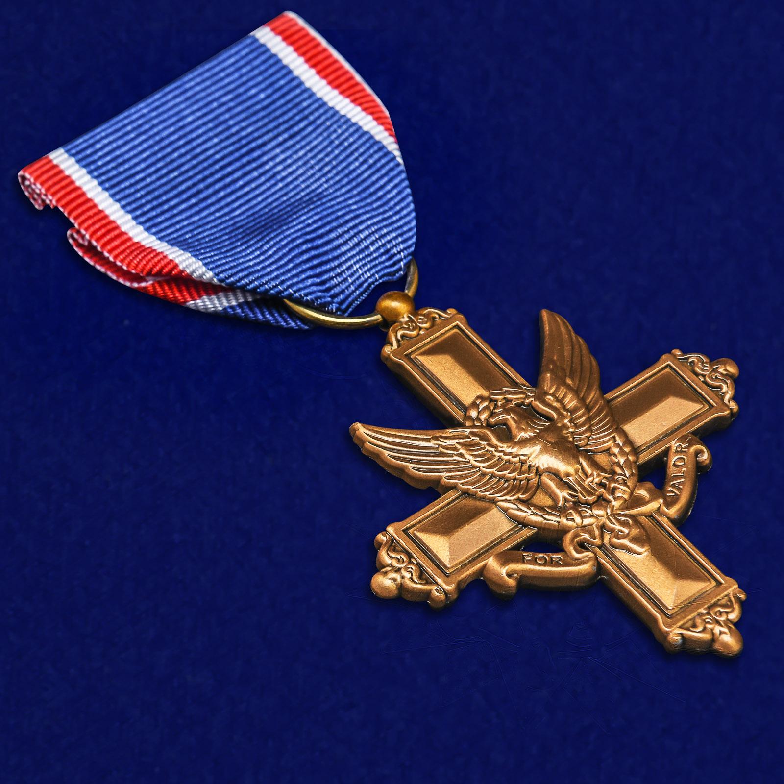 Американский латунный Крест За выдающиеся заслуги - общий вид