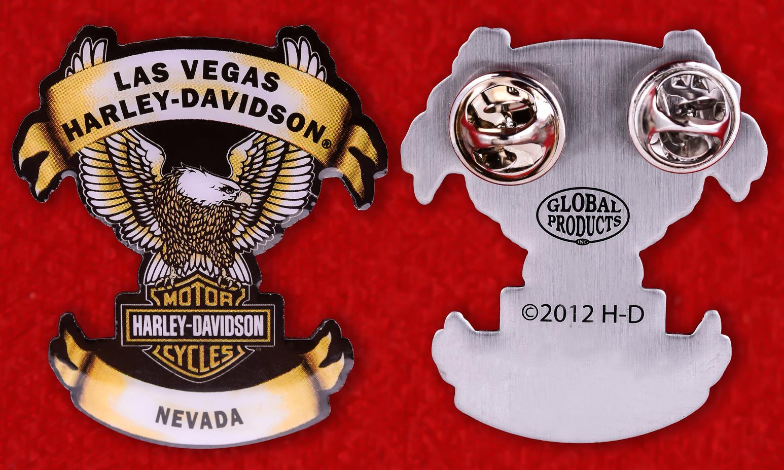 "Американский знак ""Harley-Davidson, Лас-Вегас, Невада"""