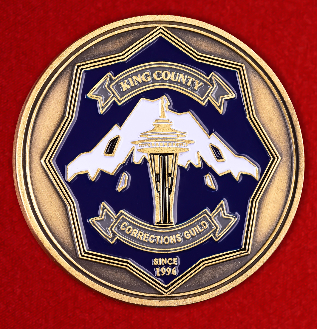 """Американский знак """"Отдел заключения под стражей"""" округа Кинг"""