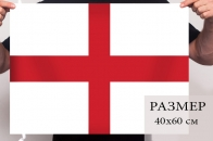Английский флаг 40x60 см