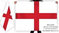 Английский флаг двухсторонний
