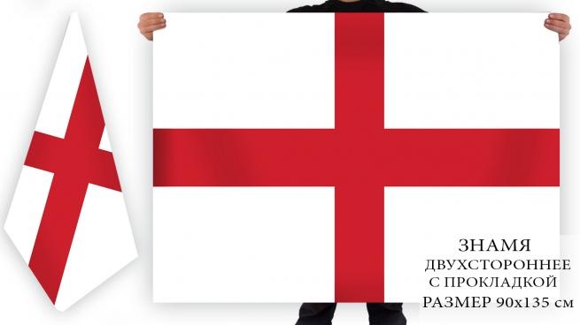 Двусторонний флаг Англии