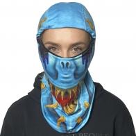 Анти-ковид маска-балаклава Wild Wear Reptilian