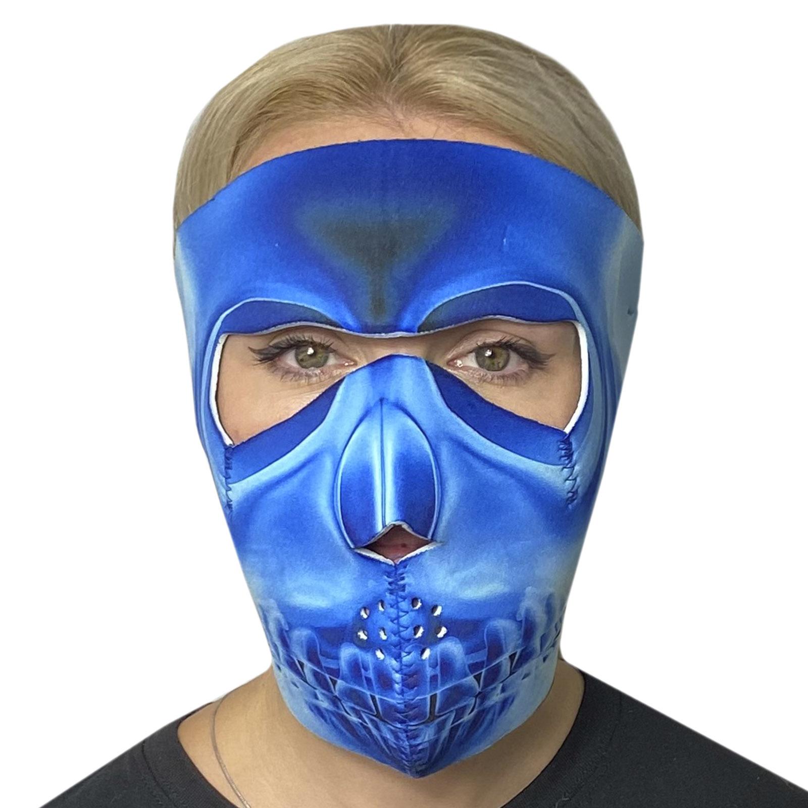 Антиковидная полнолицевая неопреновая маска Wild Wear X-Ray