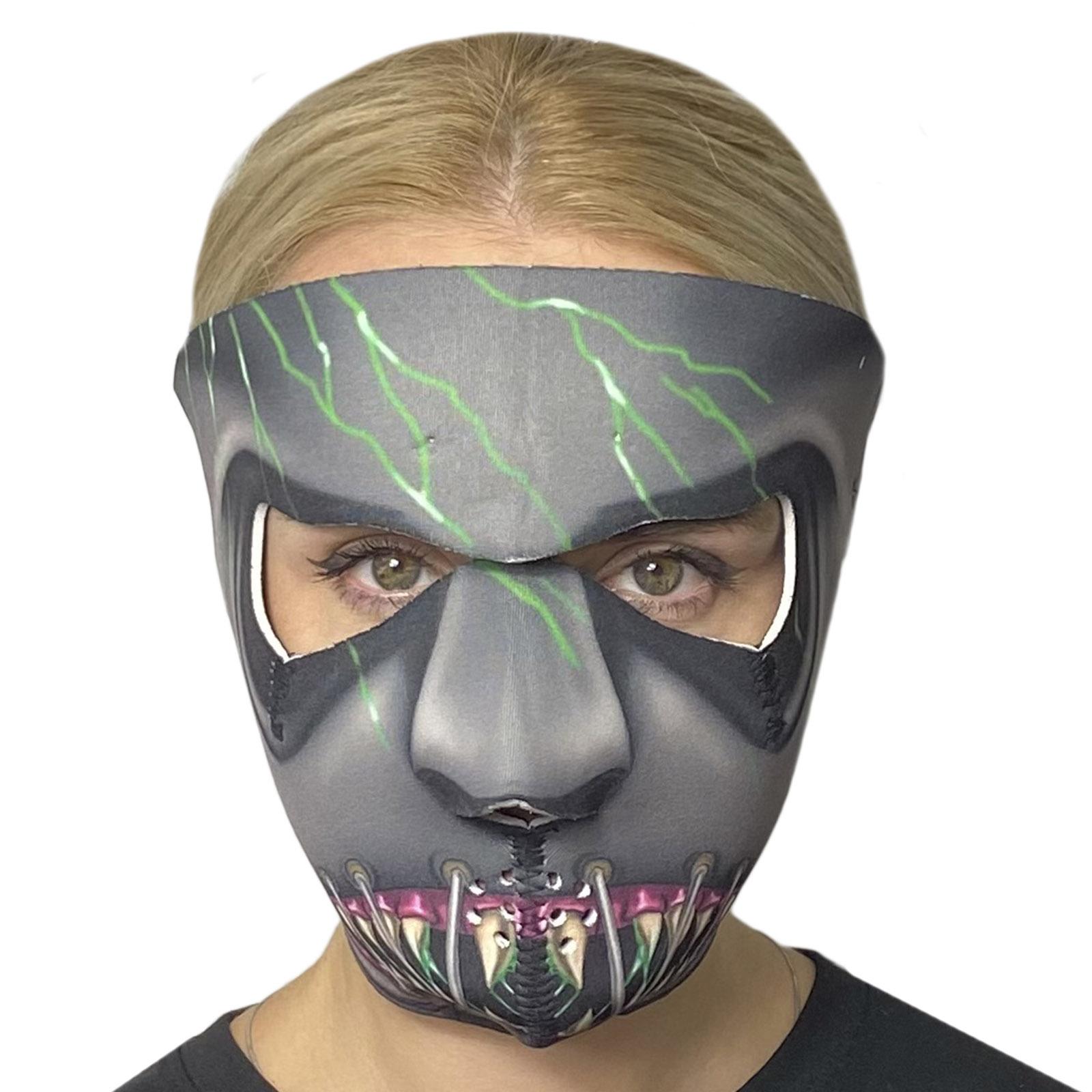 Антивирусная неопреновая маска Wild Wear Grey Demon