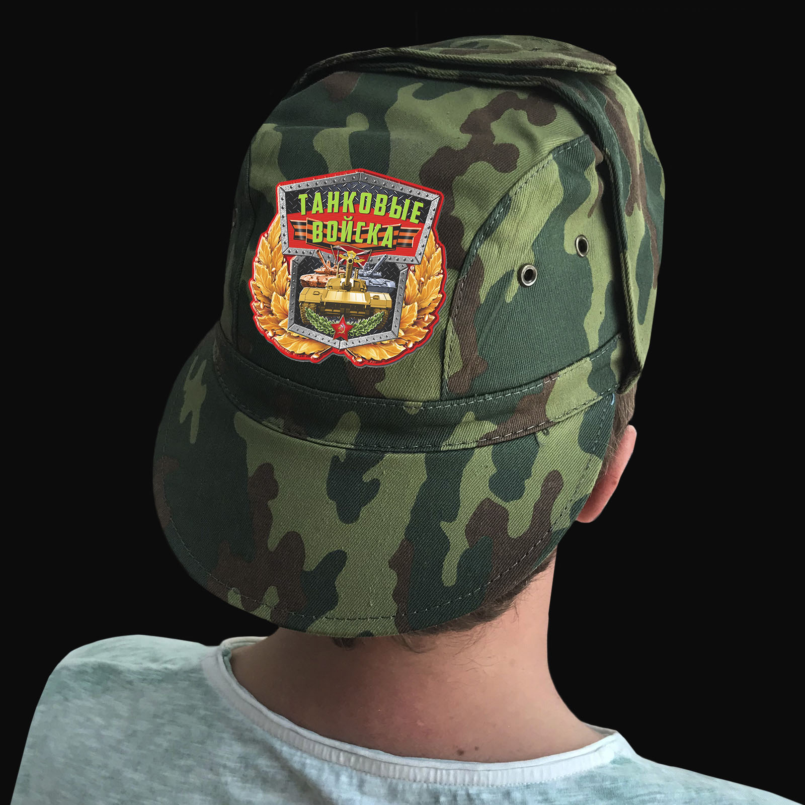 Недорогие кепки для мужчин-танкистов