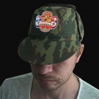 Мужская армейская кепка Russia