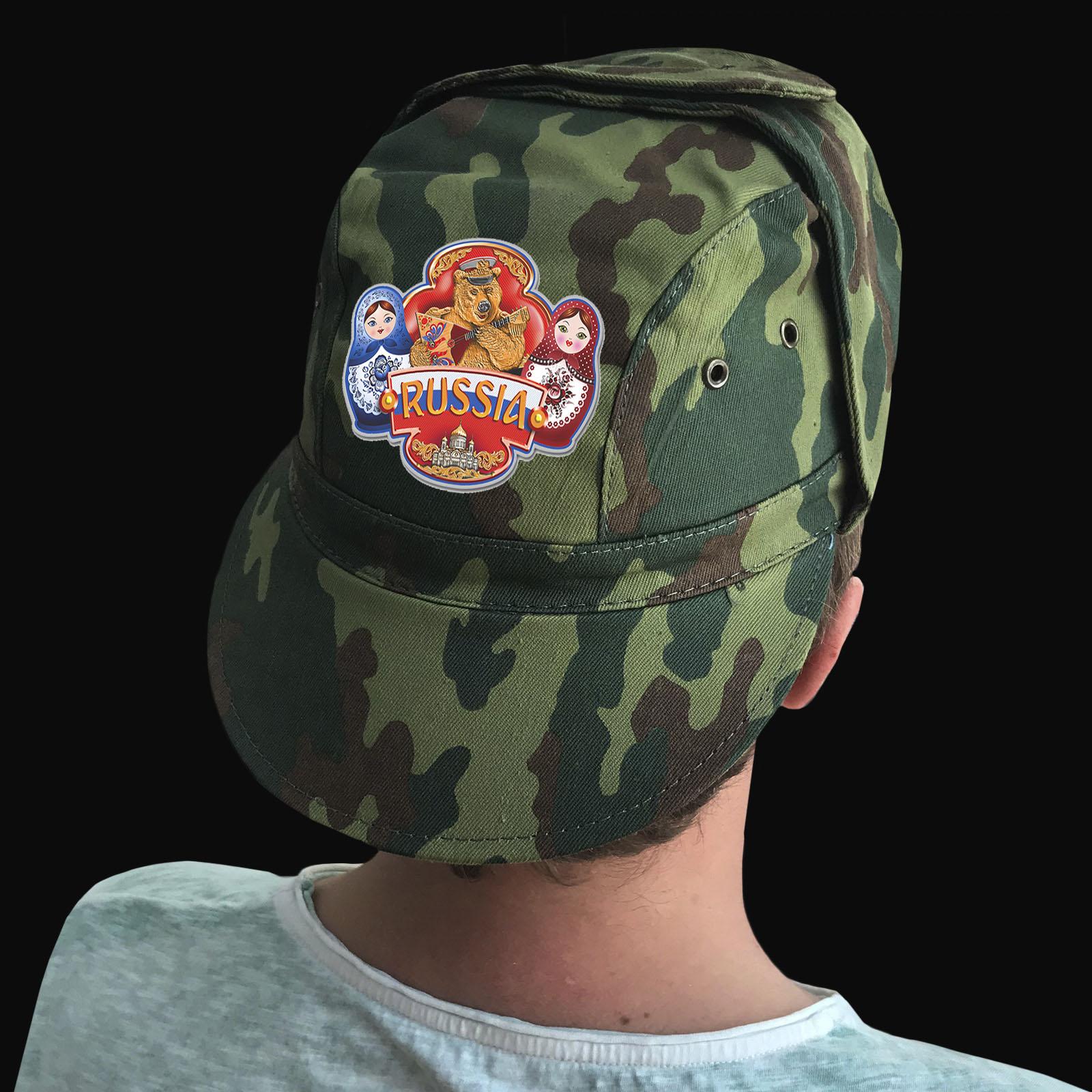 Недорогие кепки с принтом Russia – все размеры