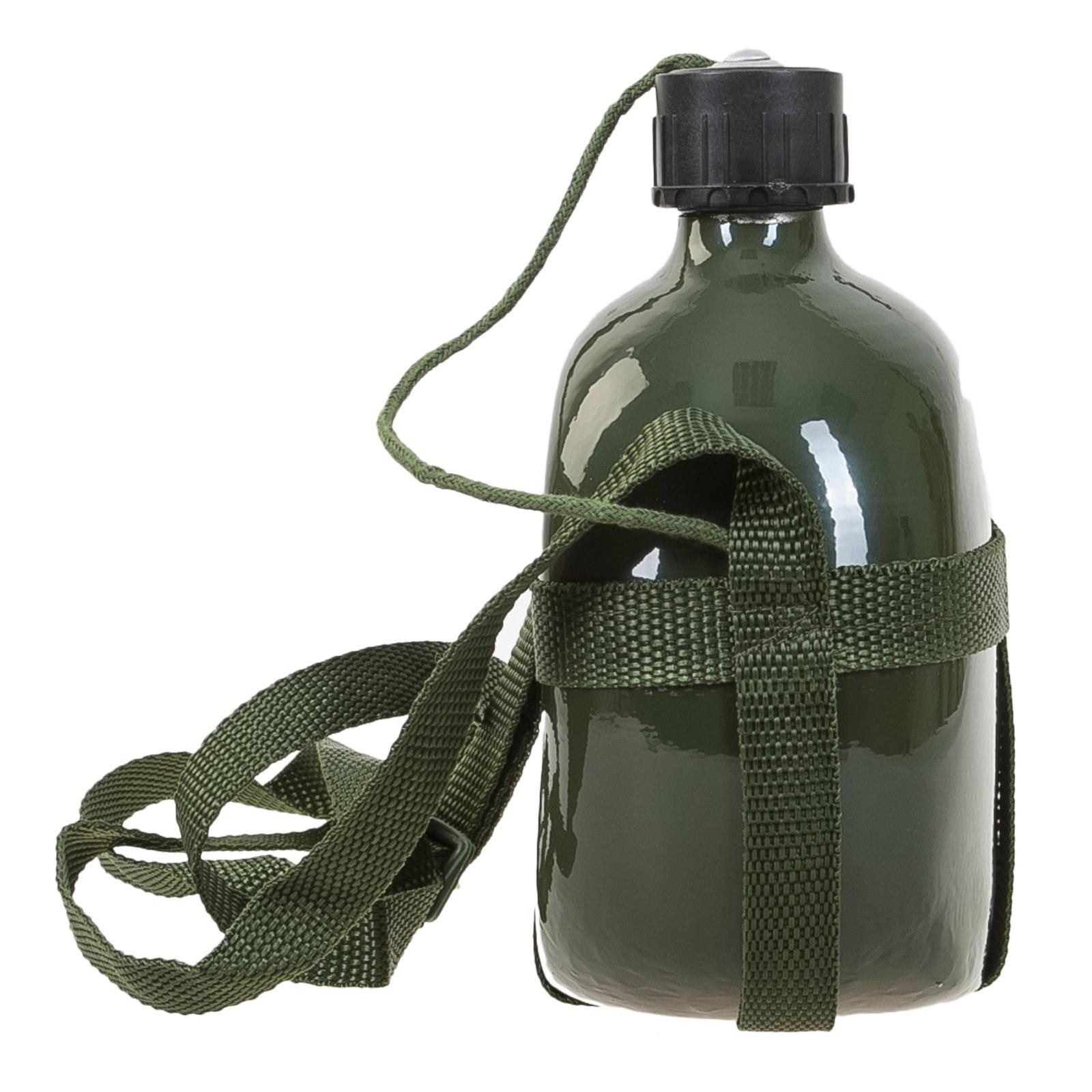 Армейская алюминиевая фляжка 1 л