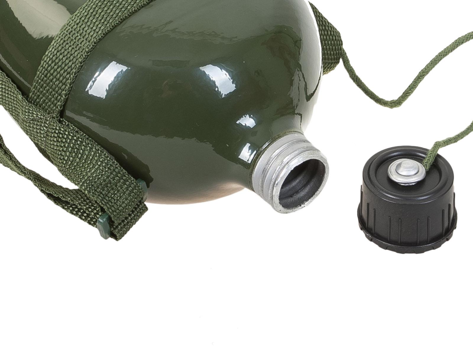 Армейская алюминиевая фляжка 1л.