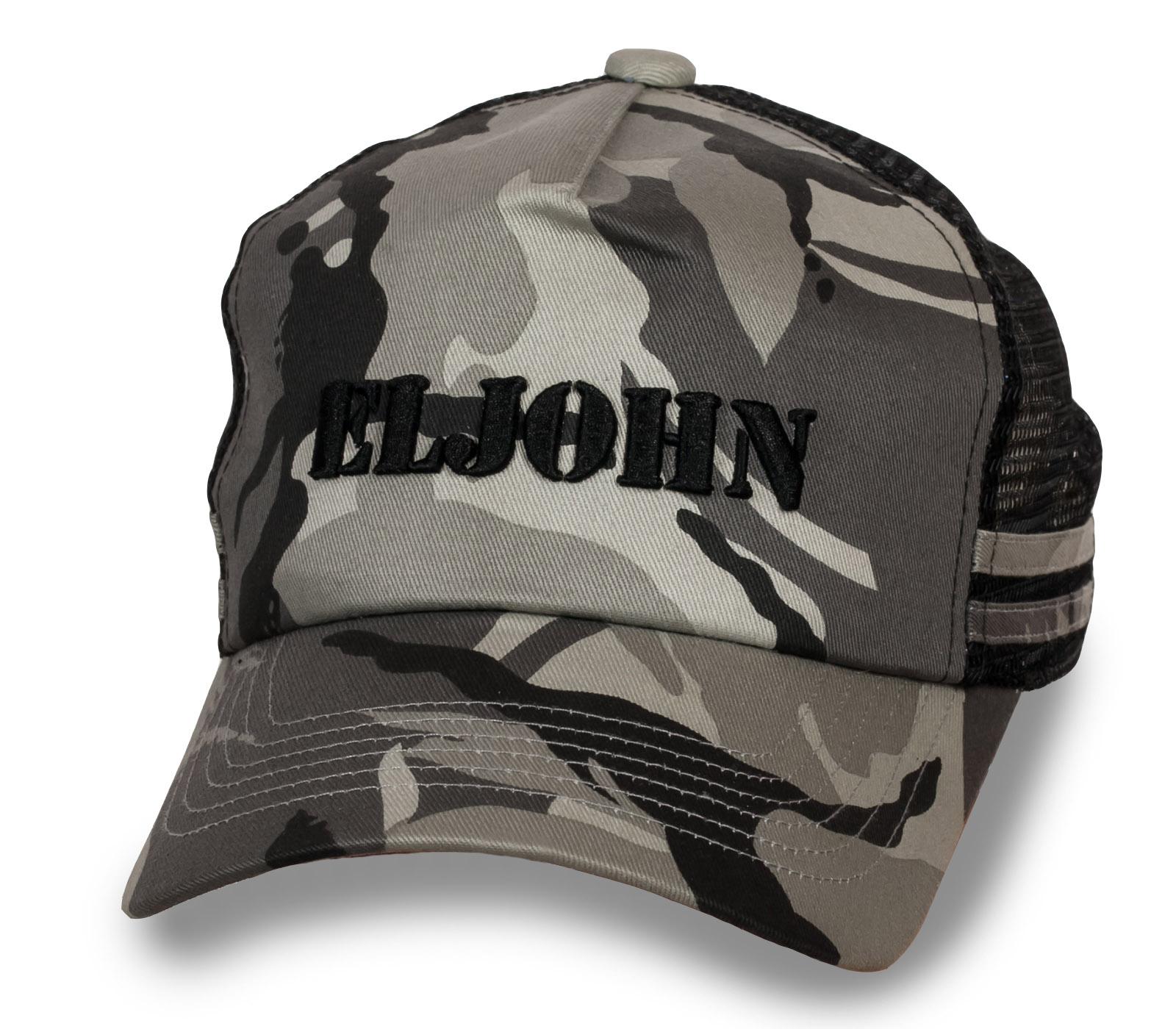 Армейская бейсболка камуфляж EL JOHN
