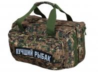 Армейская дорожная сумка с нашивкой Лучший Рыбак