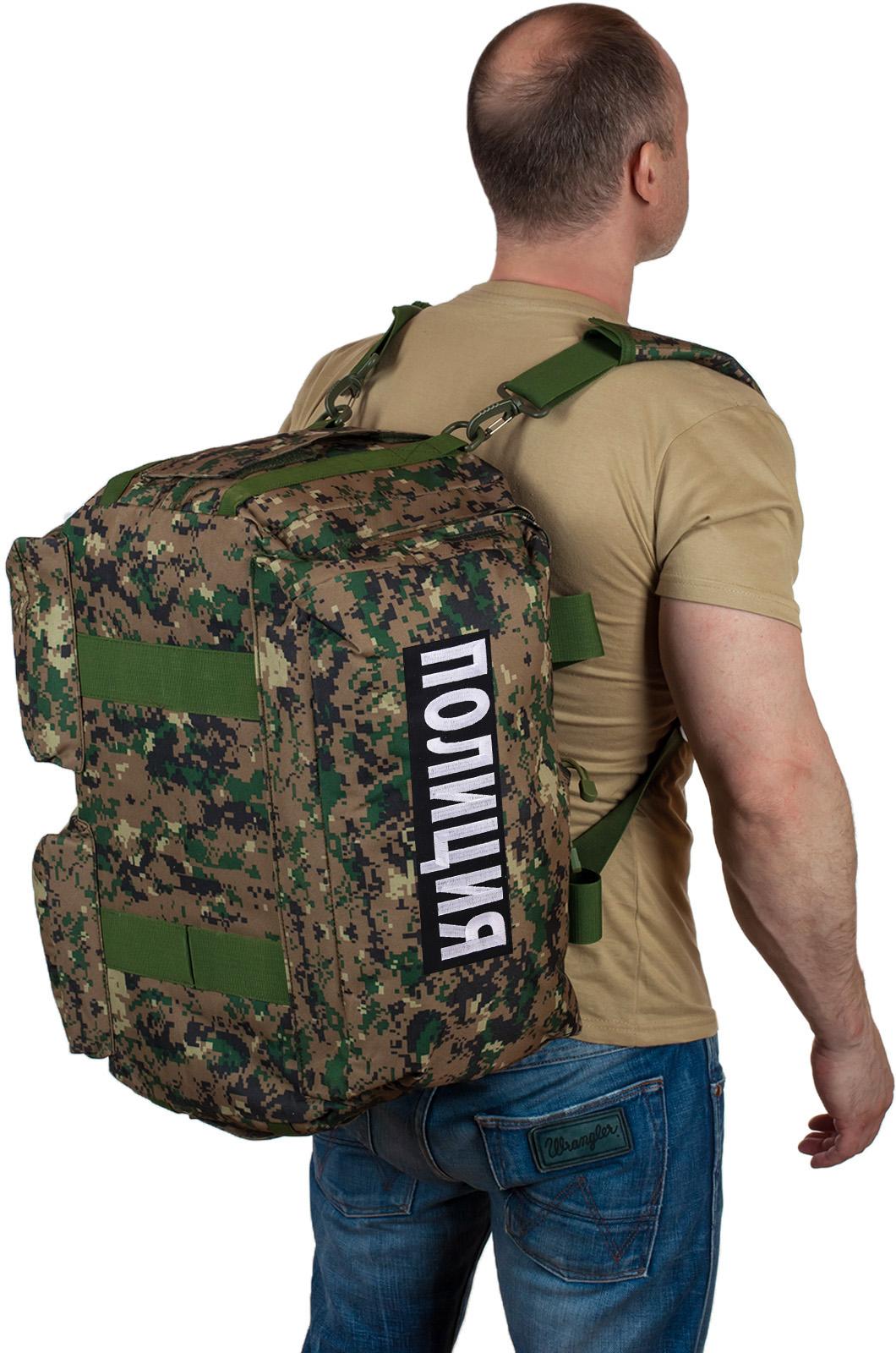 Купить армейскую дорожную сумку с нашивкой Полиция с доставкой в ваш город