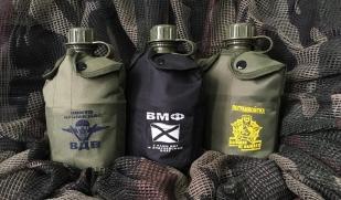 Армейская фляга для военных Пограничной службы