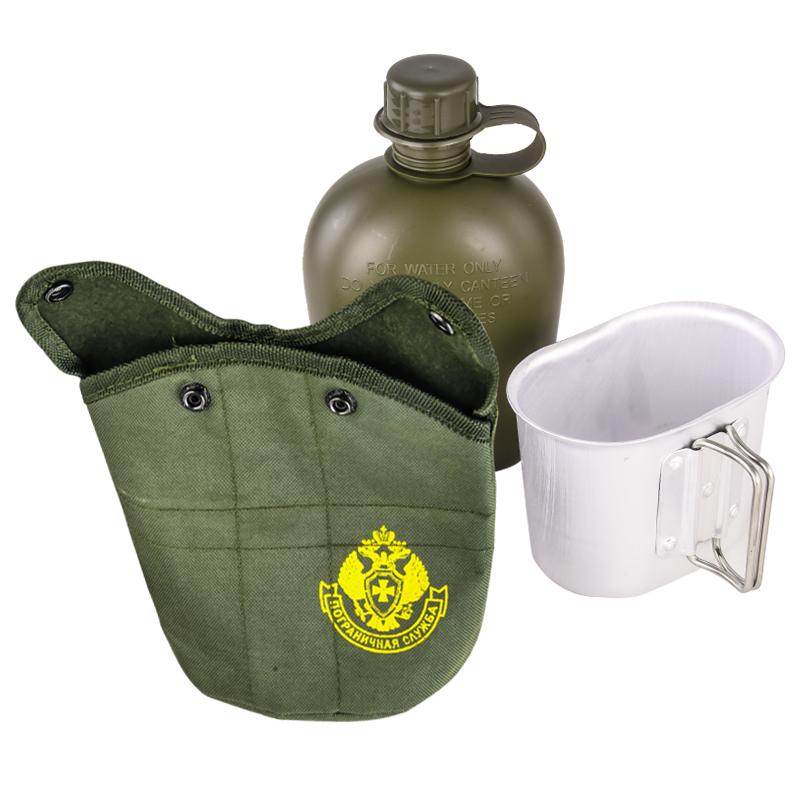 Армейская фляга для военных Пограничной службы с доставкой