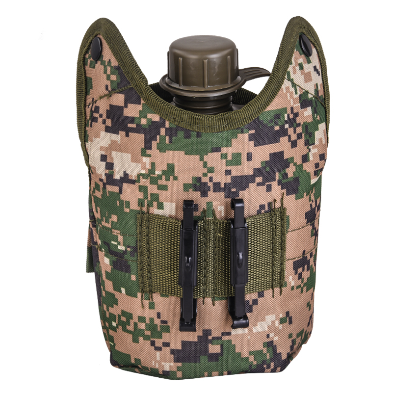 Армейская фляга с кружкой-котелком с подсумком