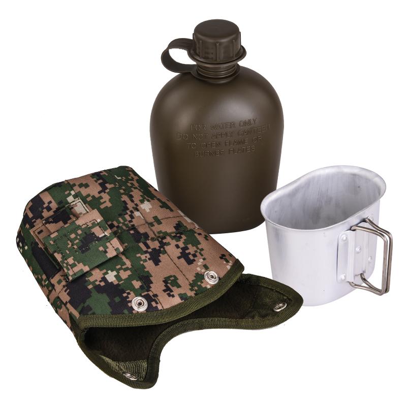 Армейская фляга с кружкой-котелком от Военпро