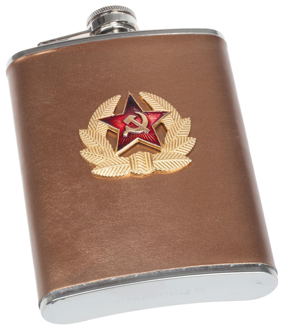 Заказать Армейскую фляжку с кокардой СА с доставкой