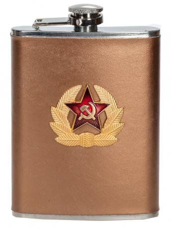 Армейская фляжка с кокардой СА