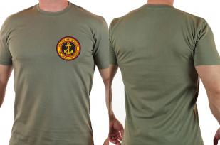 Армейская футболка с эмблемой Морской пехоты - только в Военпро