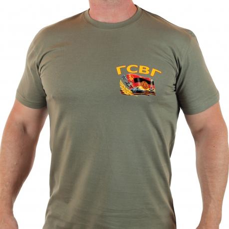 Армейская футболка с нашивкой ГСВГ