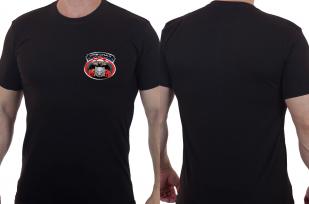 "Армейская футболка с нашивкой Спецназа ГРУ ""Волк"""
