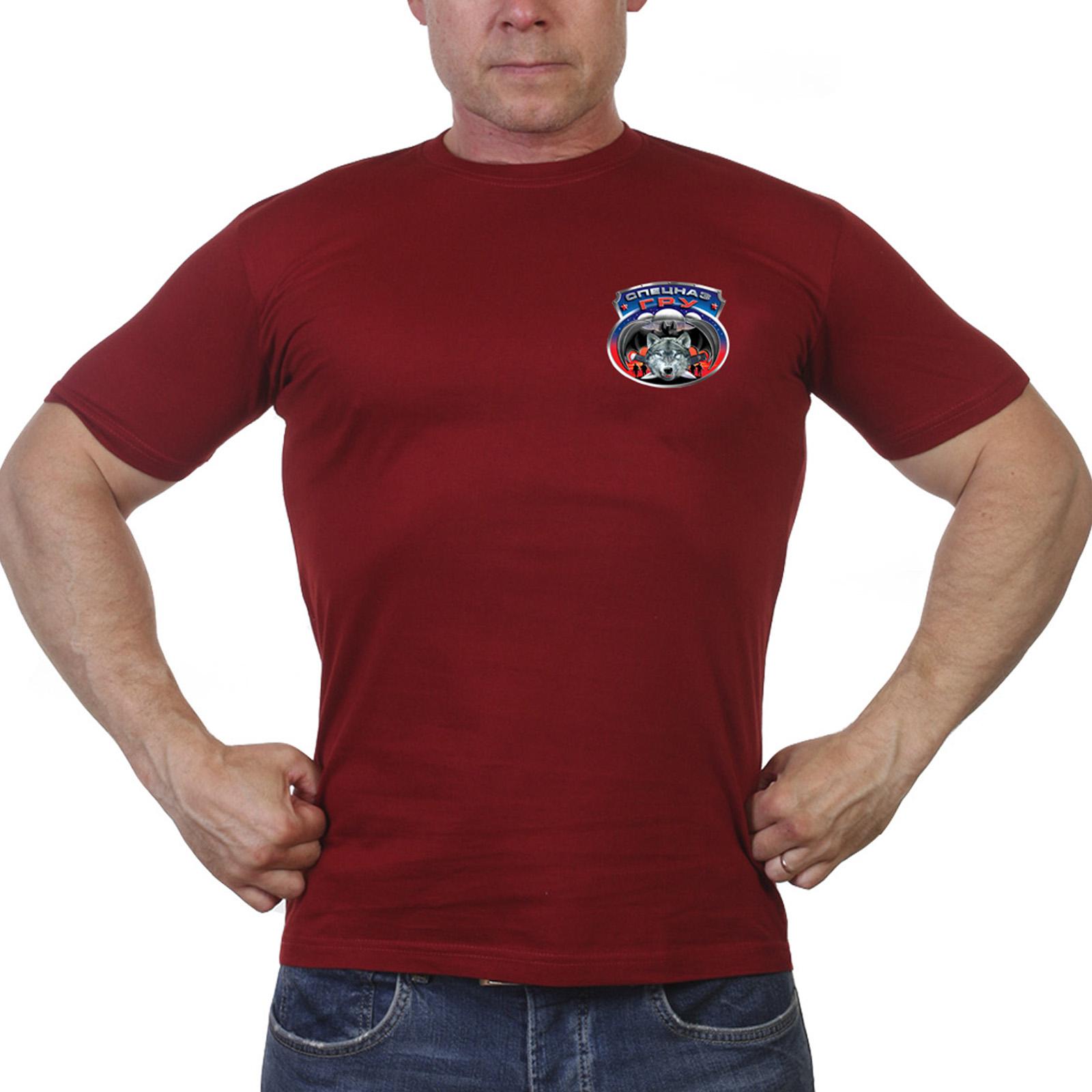 Армейская мужская футболка Спецназа ГРУ