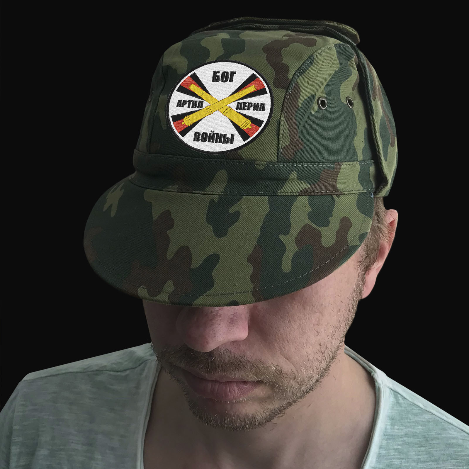 Армейская кепка Артиллерия – бог войны