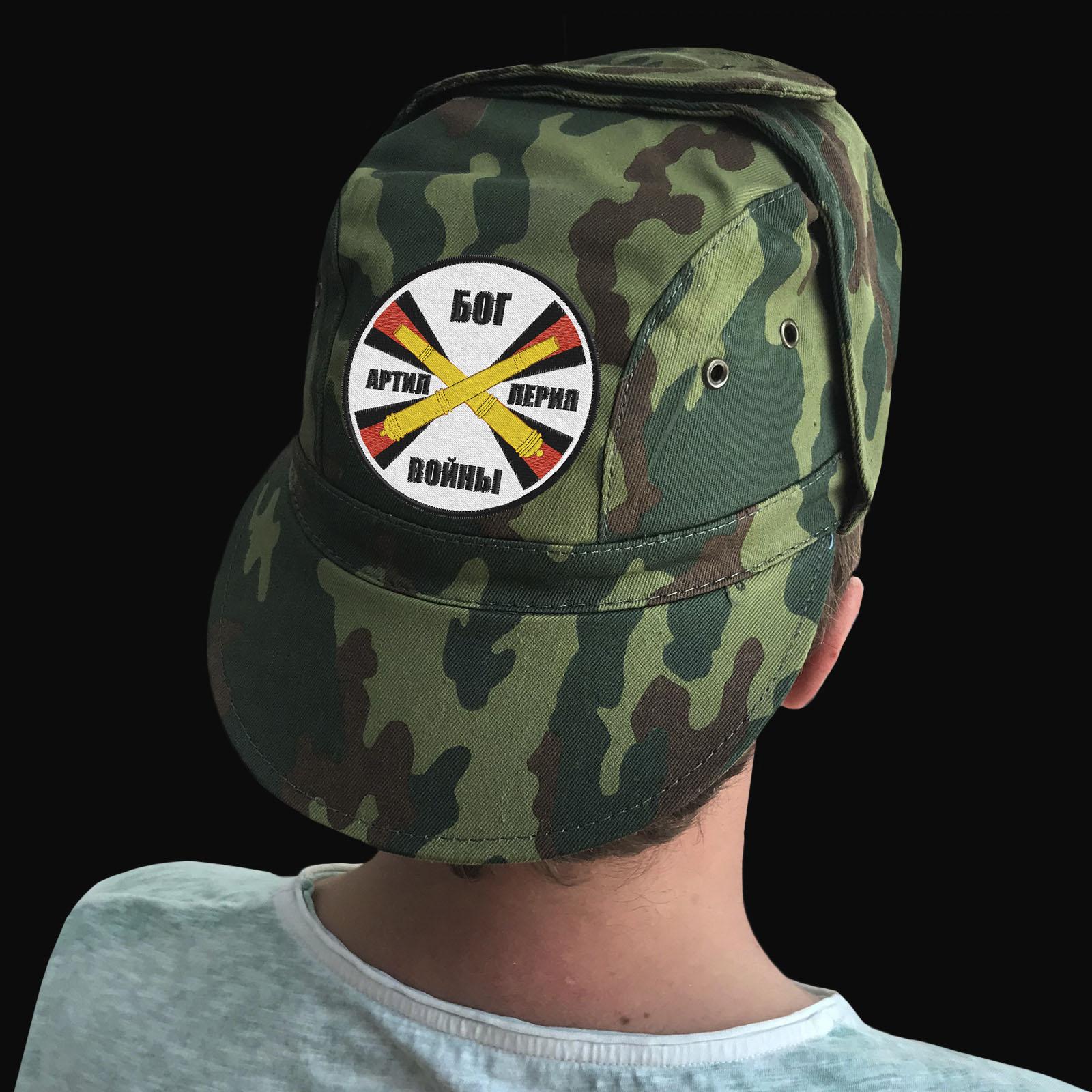 Армейские кепки в артиллерийском дизайне