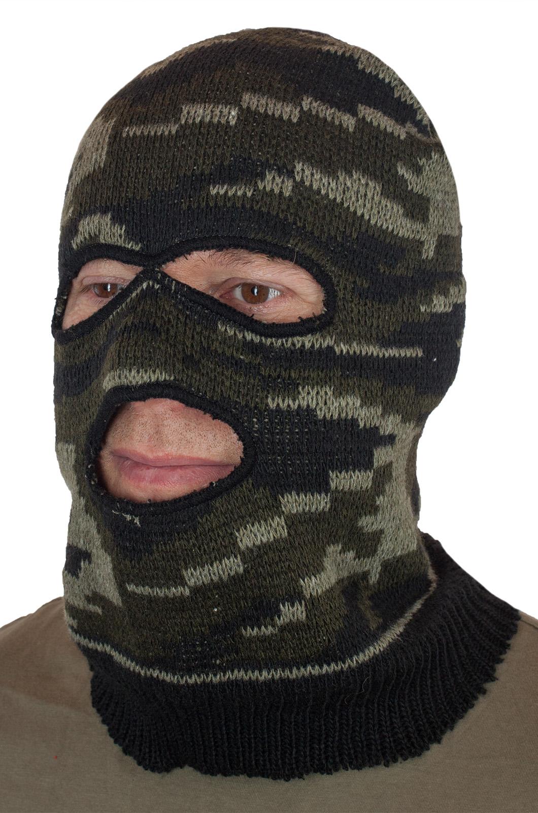 Армейская маска камуфляжная