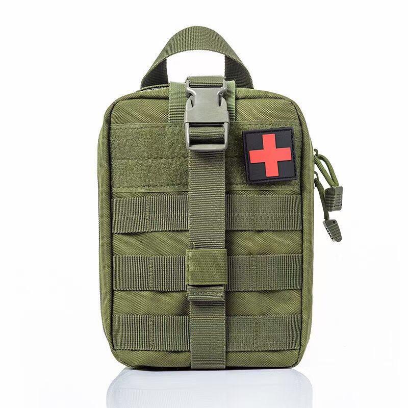 Армейская медицинская сумка первой помощи (олива)