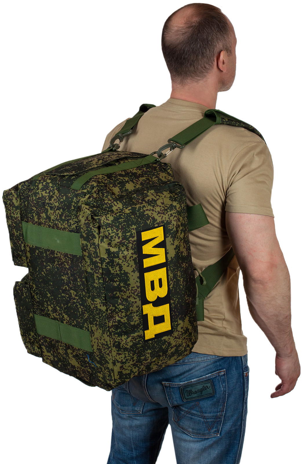 Купить армейскую пиксельную сумку МВД оптом или в розницу выгодно