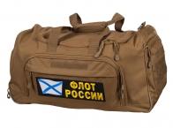 Армейская походная сумка 08032B Coyote с нашивкой Флот России