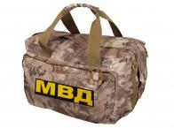 Армейская походная сумка с нашивкой МВД