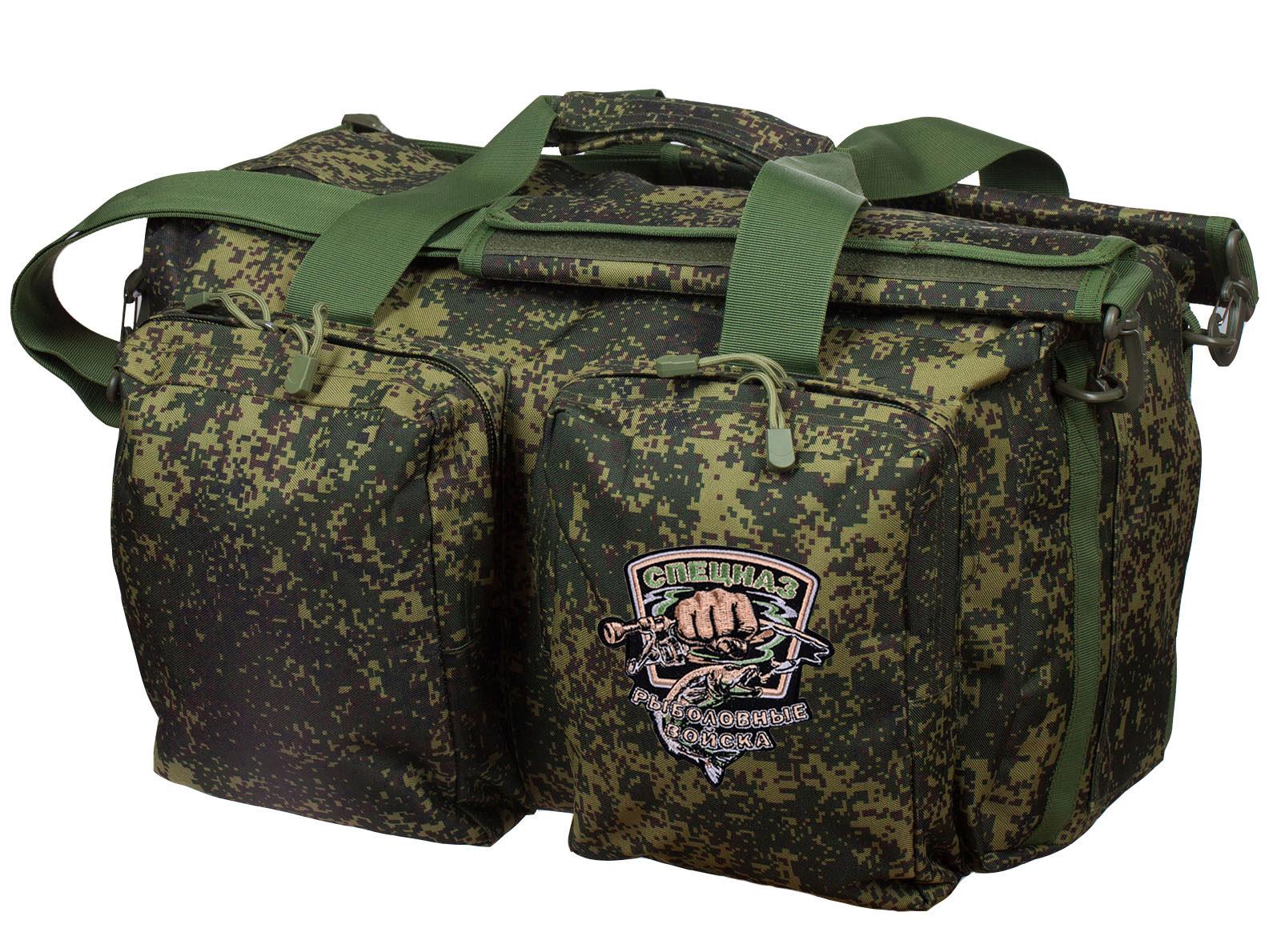 Армейская полевая сумка с эмблемой Рыболовного спецназа