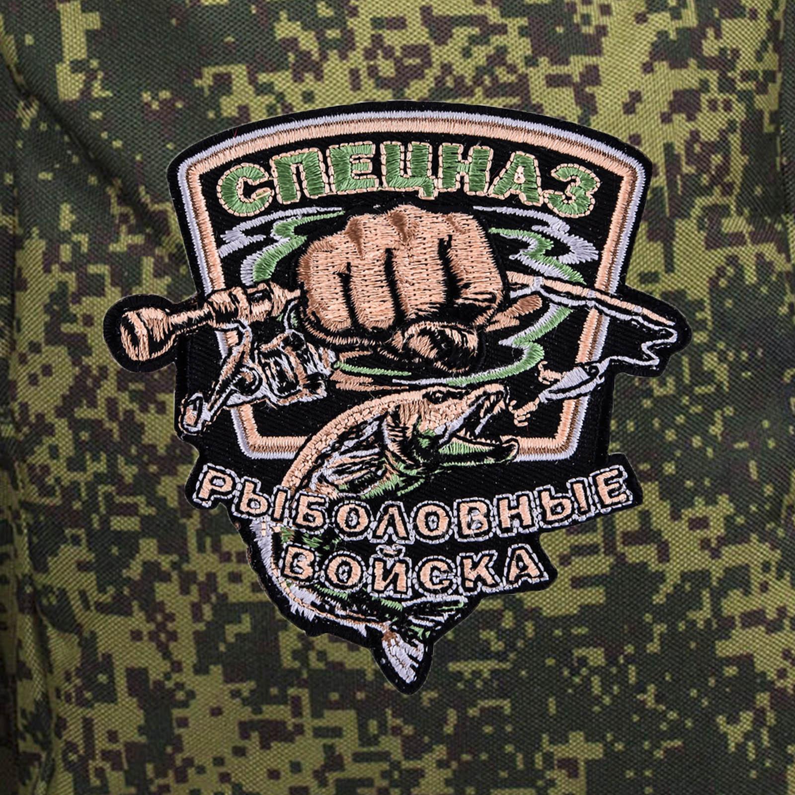 Армейская полевая сумка с эмблемой Рыболовного спецназа купить выгодно