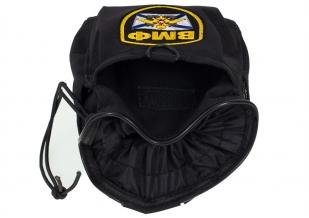 Армейская поясная сумка для фляжки с нашивкой ВМФ черного цвета