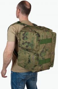 Армейская сумка-баул с нашивкой Флот России