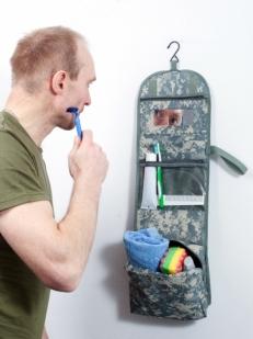 """Армейская сумка-несессер """"Северный флот"""" для личных вещей"""