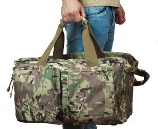 Вместительная армейская сумка-рюкзак