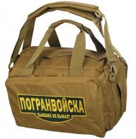 Армейская сумка-рюкзак с нашивкой Погранвойска - купить онлайн