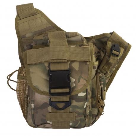 Армейская тактическая сумка на плечо MOLLE