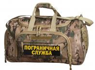 Армейская тревожная сумка 08032B Multicam с нашивкой ПС