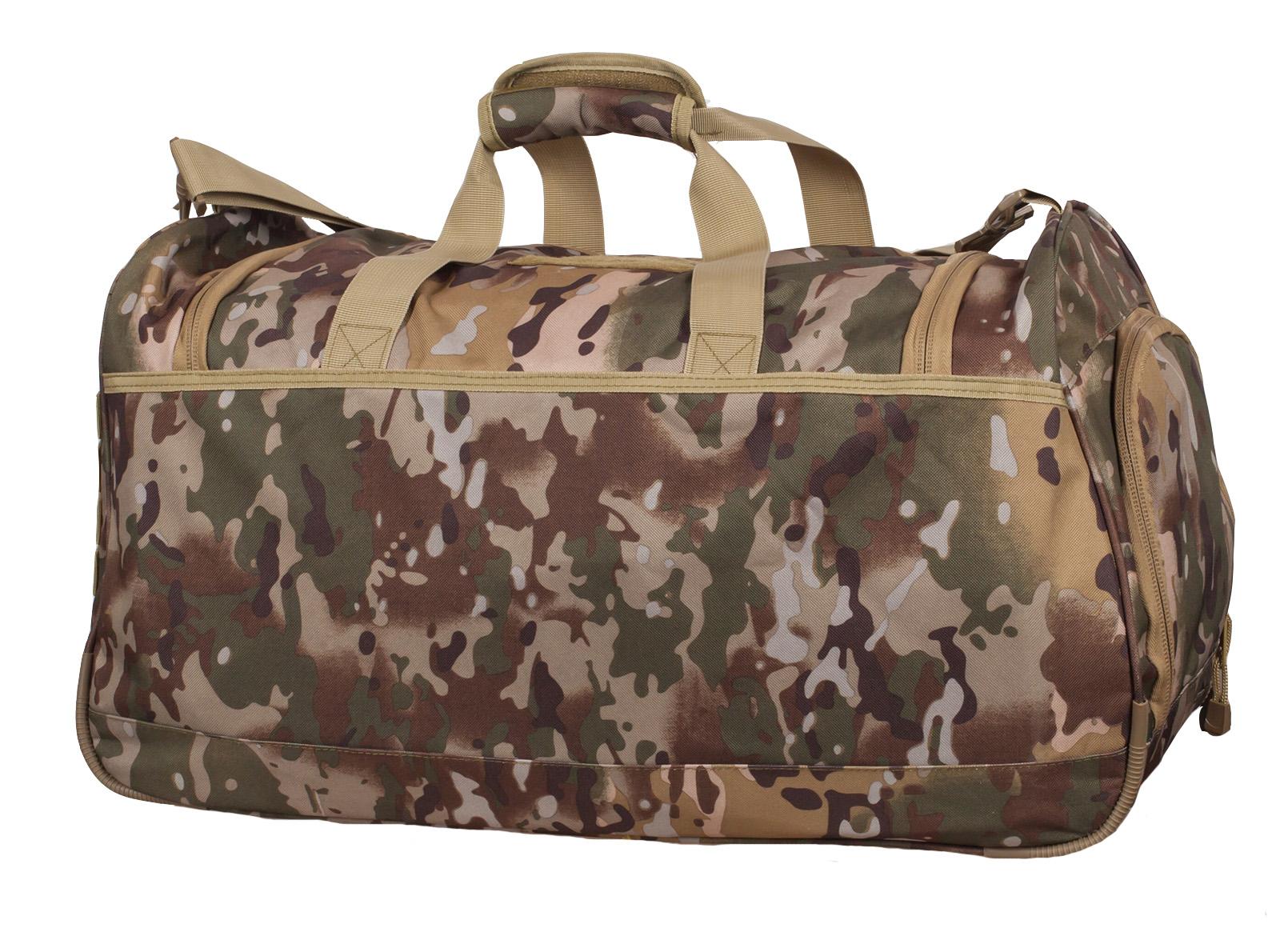 Армейская тревожная сумка 08032B с нашивкой ВМФ