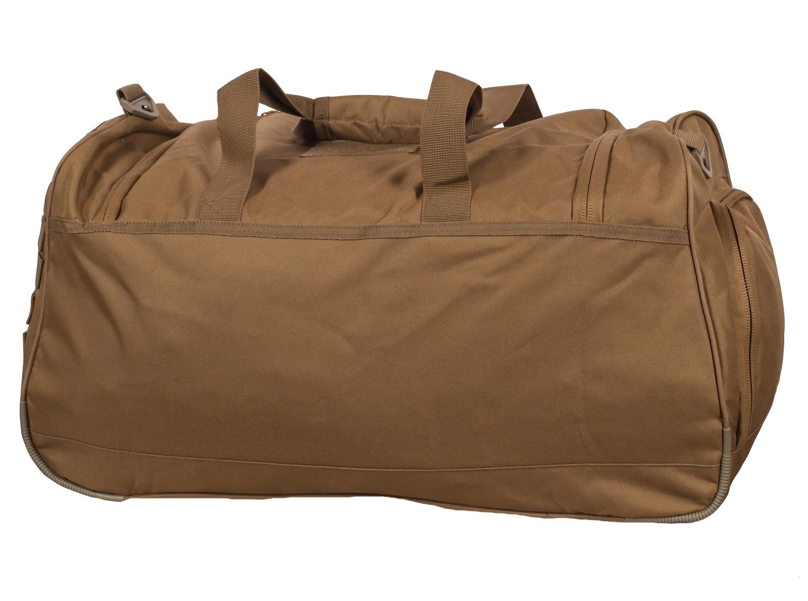 Армейская вместительная сумка 08032B Coyote с нашивкой Танковые Войска - купить выгодно