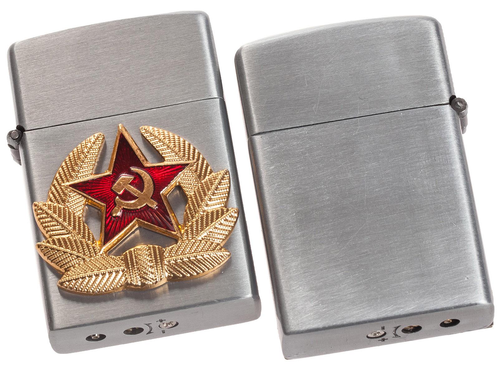 Армейская зажигалка с кокардой СА по лучшей цене