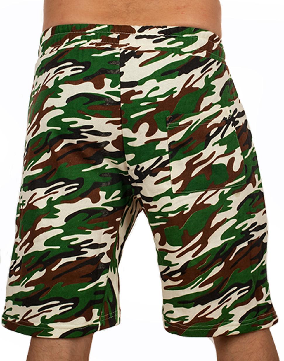 Армейские камуфляжные шорты купить в Военпро
