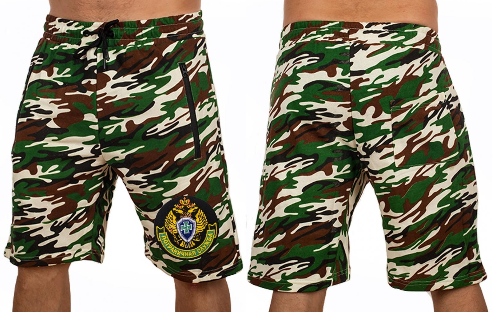 Армейские камуфляжные шорты заказать в Военпро