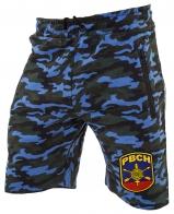 Армейские камуфляжные шорты с нашивкой РВСН