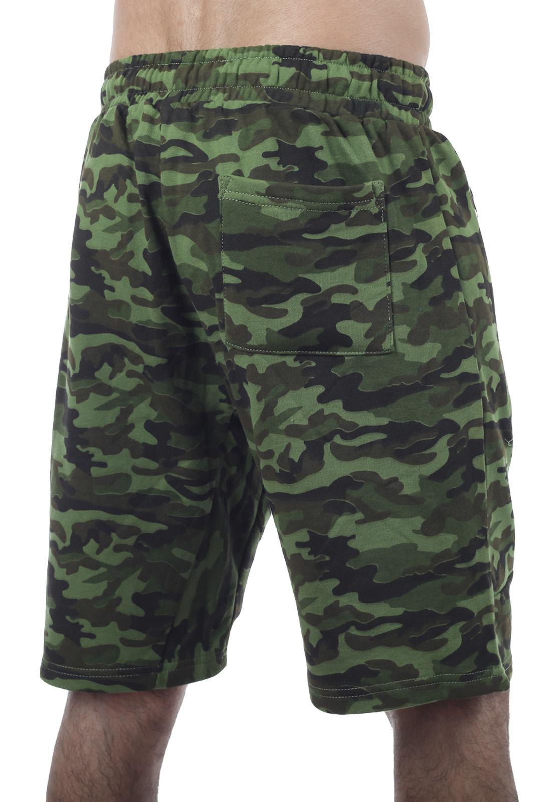 Армейские комфортные шорты с карманами и нашивкой РВСН - заказать онлайн